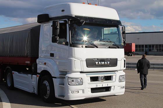 Egy Kamaz típusú közkedvelt teherautó. (A kép illusztráció). A kép forrása: erdo-mezo.hu.